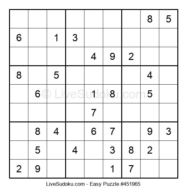 Beginners Puzzle #451965