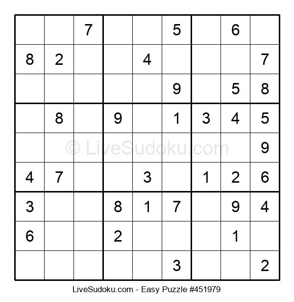 Beginners Puzzle #451979