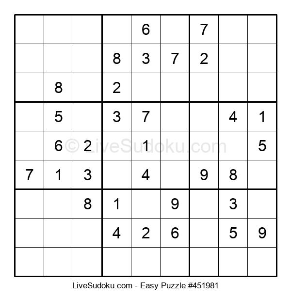 Beginners Puzzle #451981