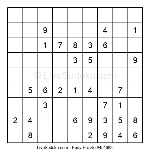 Beginners Puzzle #451983