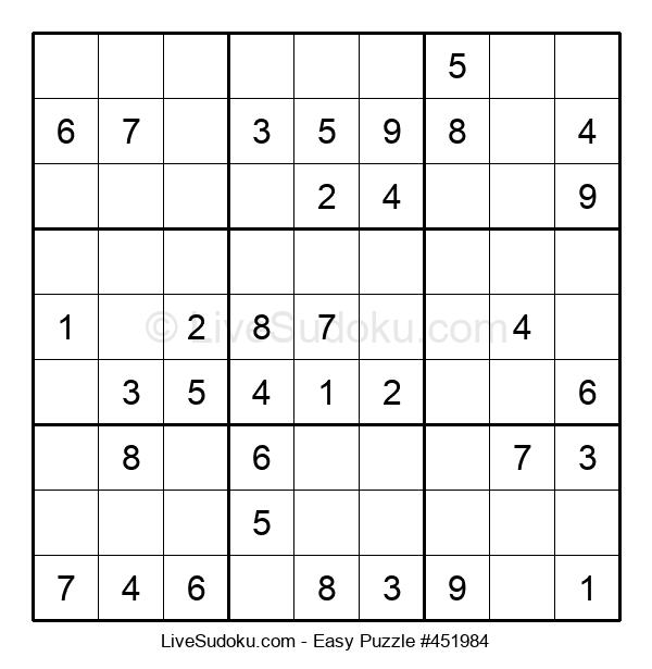 Beginners Puzzle #451984