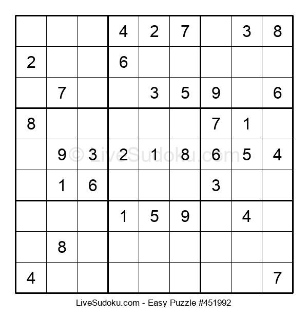 Beginners Puzzle #451992
