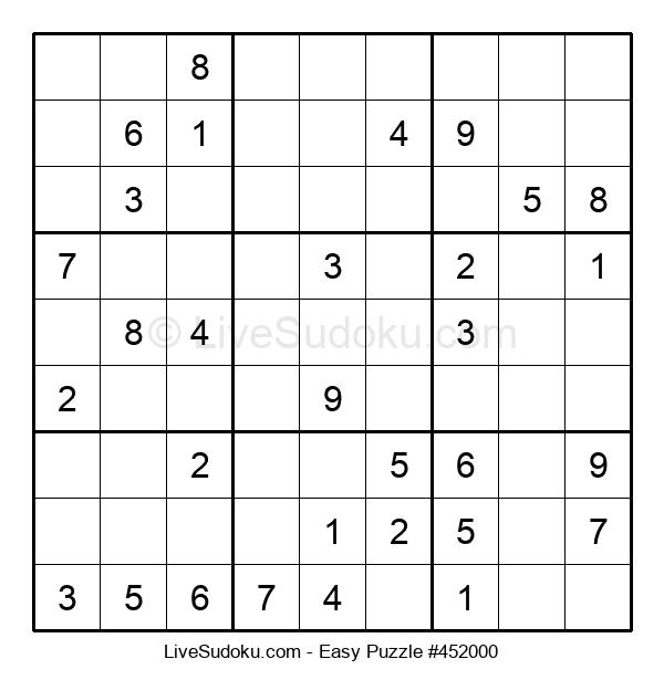 Beginners Puzzle #452000