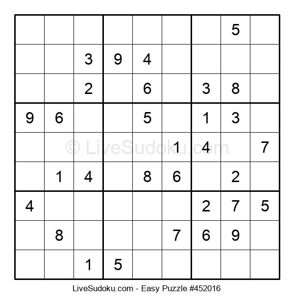 Beginners Puzzle #452016