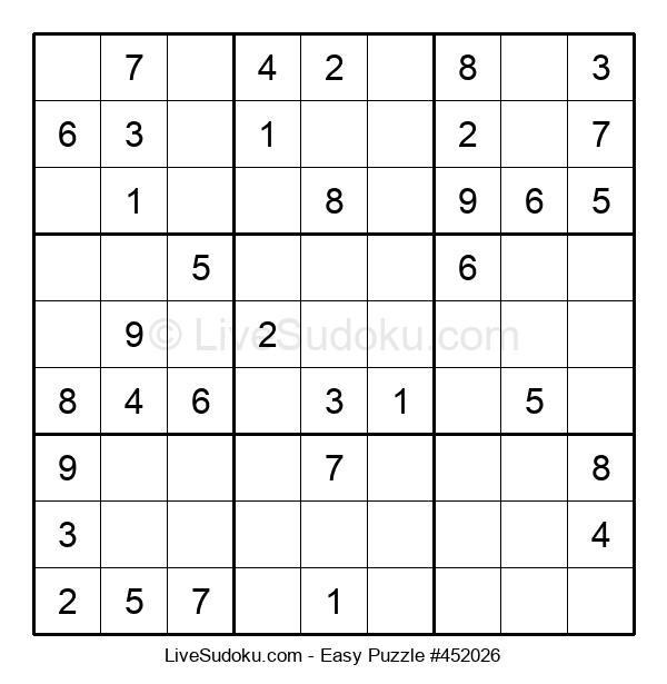 Beginners Puzzle #452026