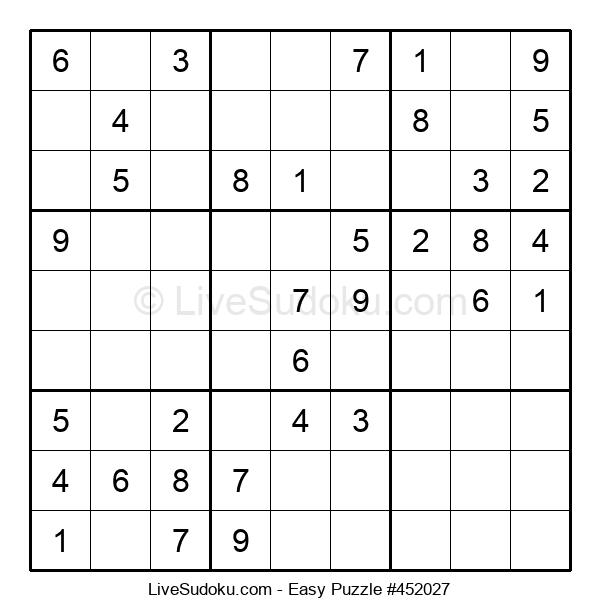 Beginners Puzzle #452027
