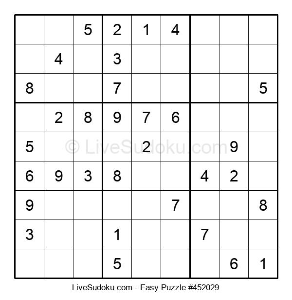 Beginners Puzzle #452029