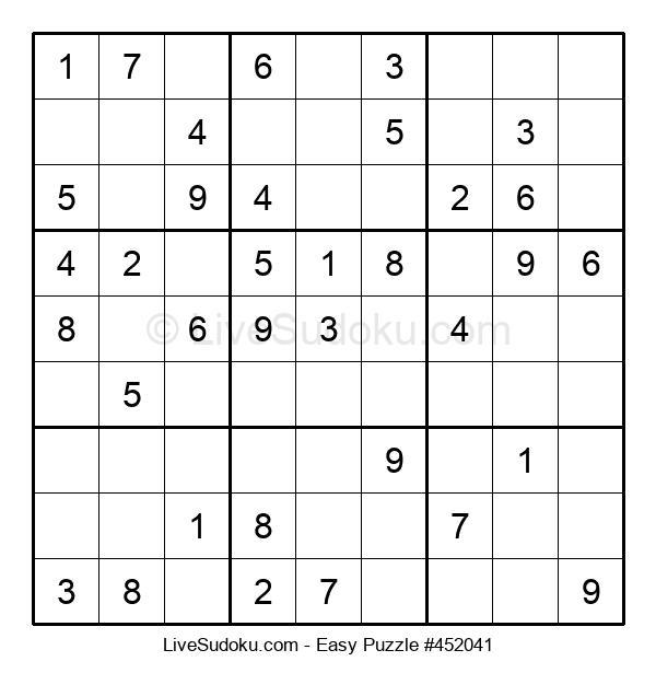 Beginners Puzzle #452041