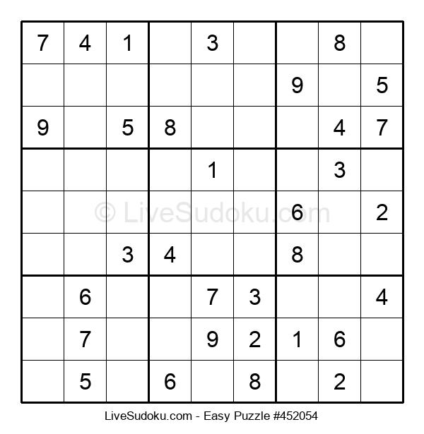 Beginners Puzzle #452054