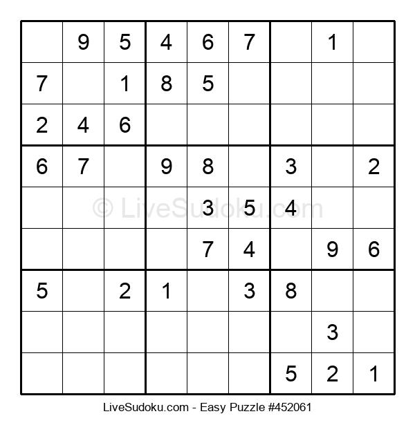 Beginners Puzzle #452061