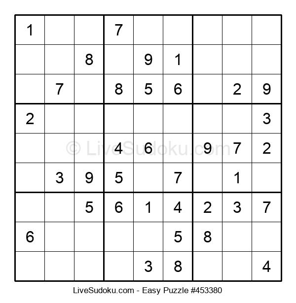 Beginners Puzzle #453380