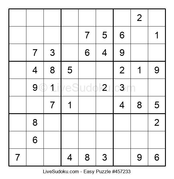 Beginners Puzzle #457233