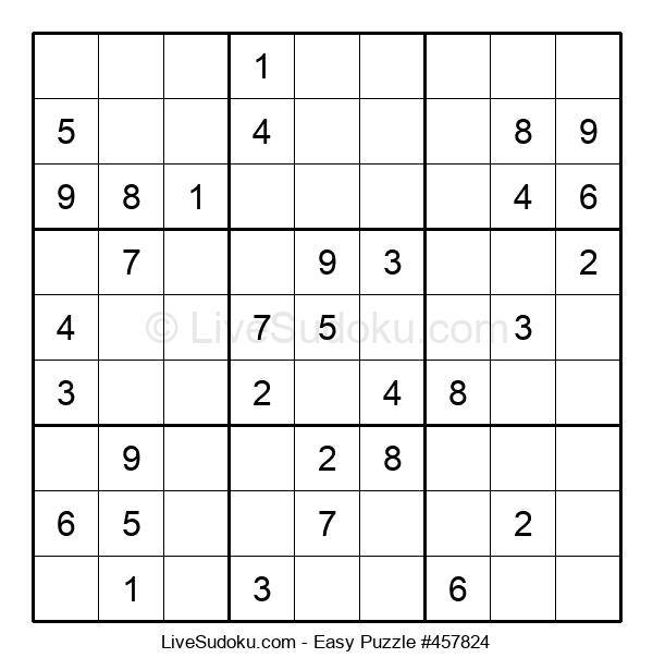 Beginners Puzzle #457824