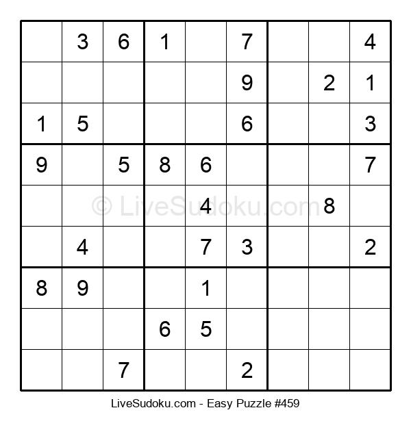 Beginners Puzzle #459