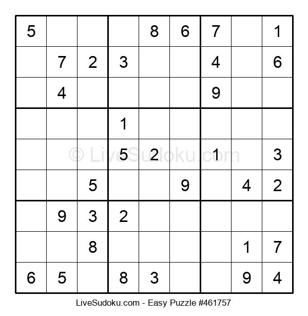 Beginners Puzzle #461757