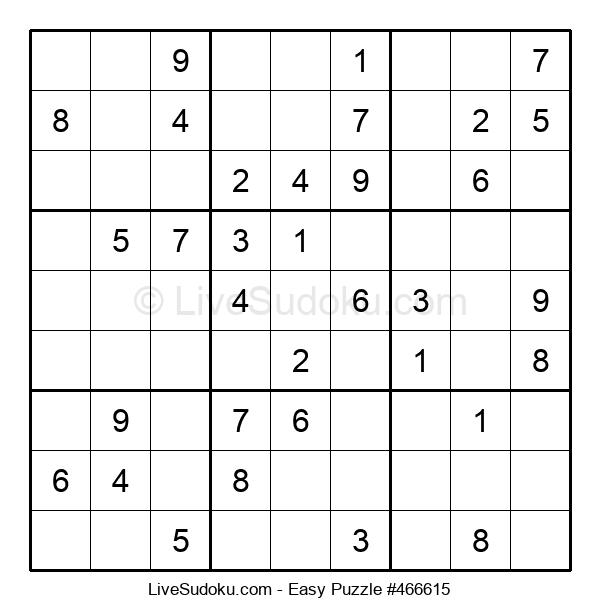 Beginners Puzzle #466615