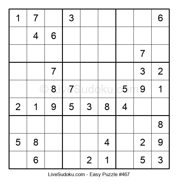Beginners Puzzle #467