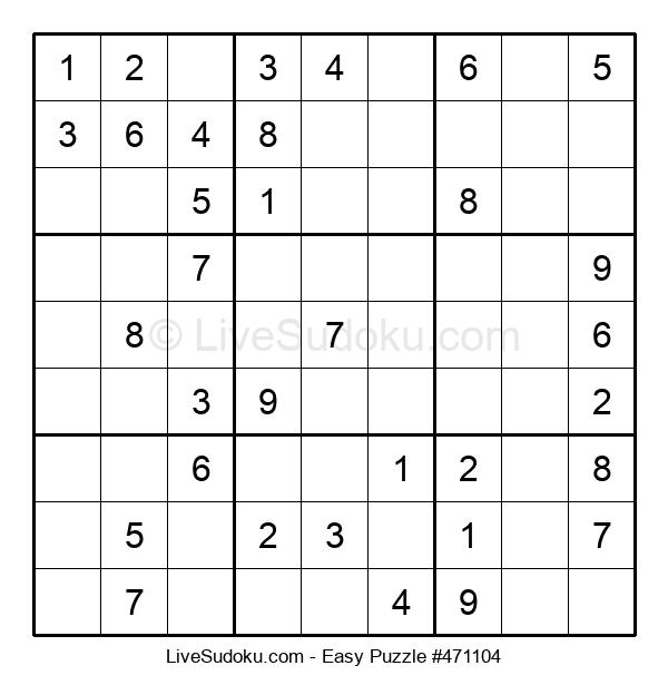 Beginners Puzzle #471104