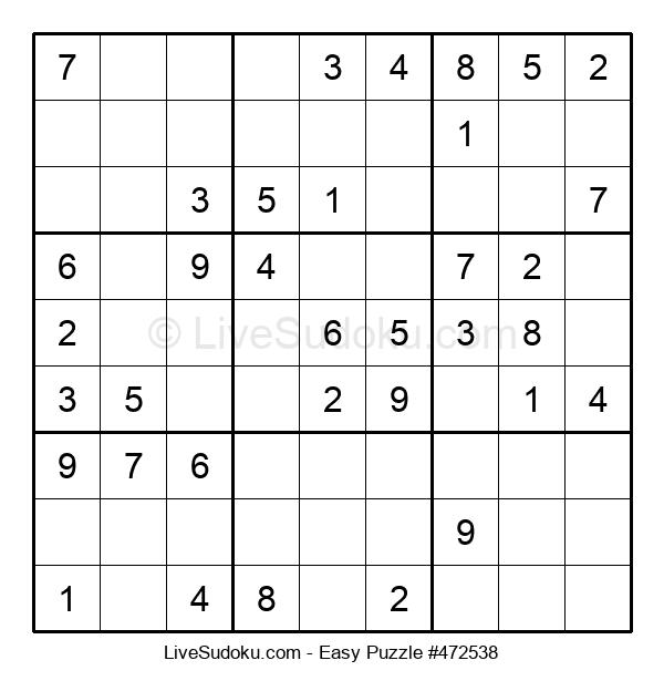 Beginners Puzzle #472538