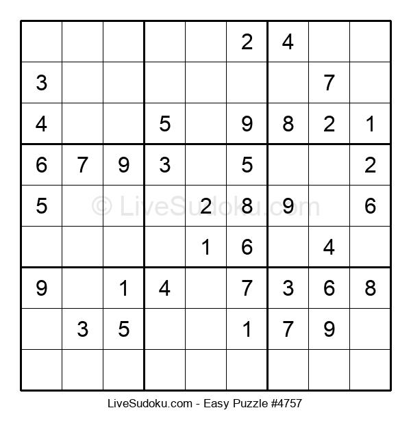 Beginners Puzzle #4757