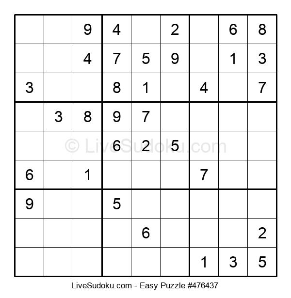 Beginners Puzzle #476437