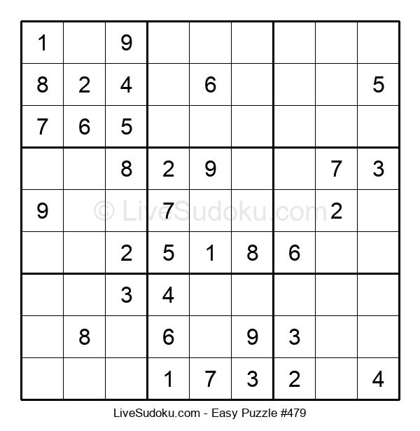Beginners Puzzle #479