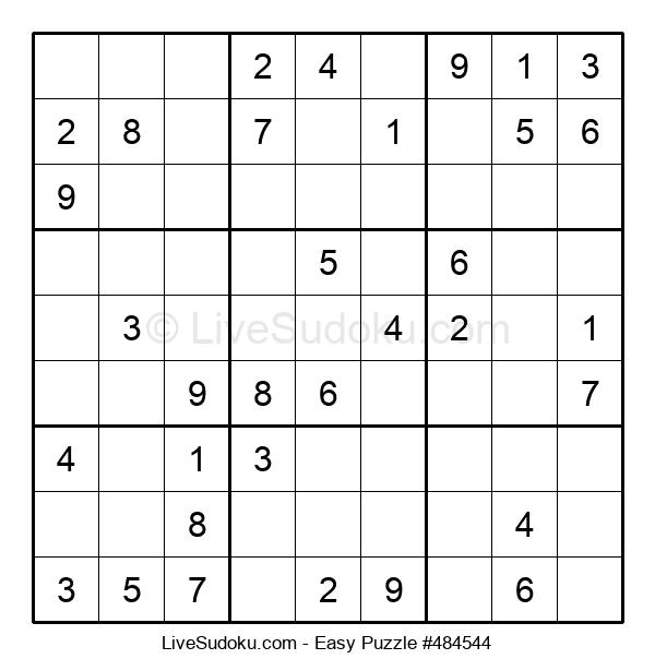 Beginners Puzzle #484544