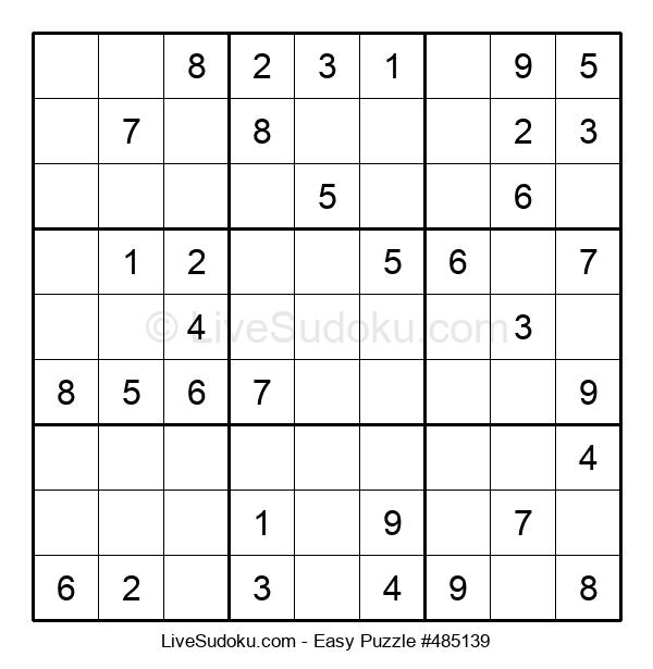 Beginners Puzzle #485139