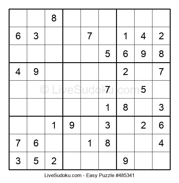 Beginners Puzzle #485341
