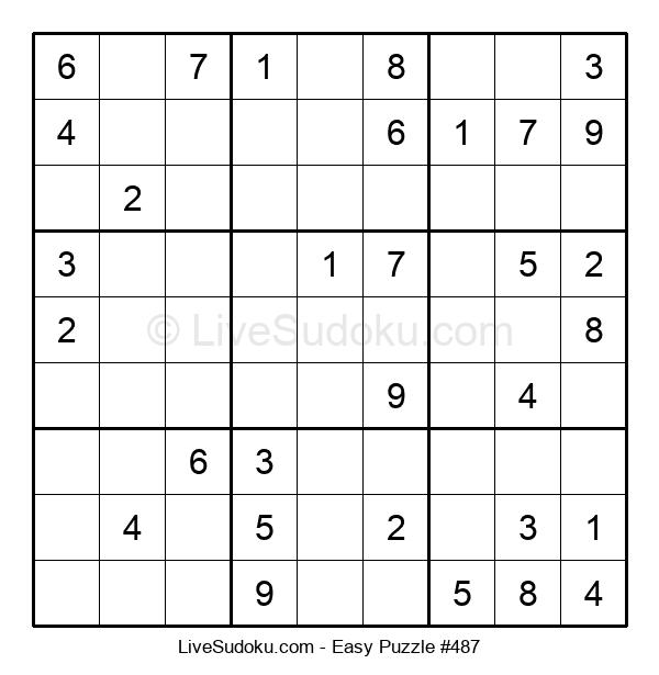 Beginners Puzzle #487