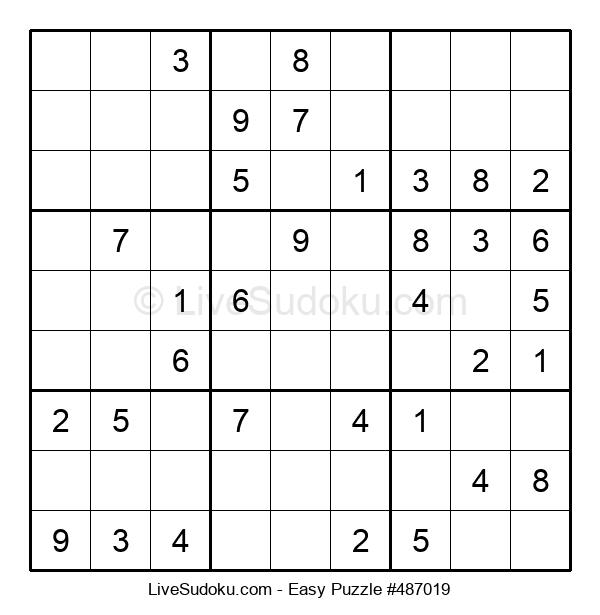 Beginners Puzzle #487019