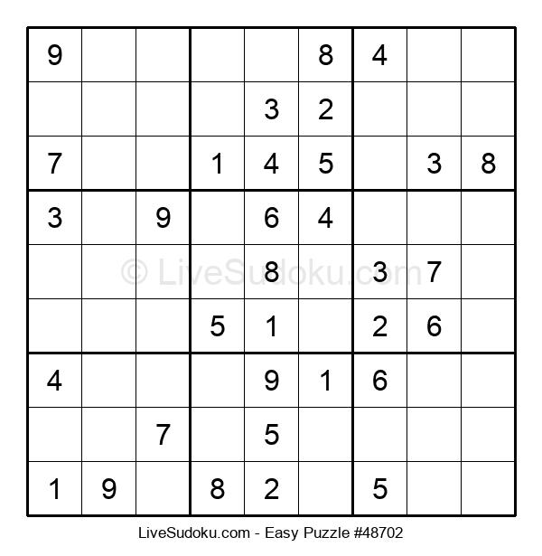 Beginners Puzzle #48702
