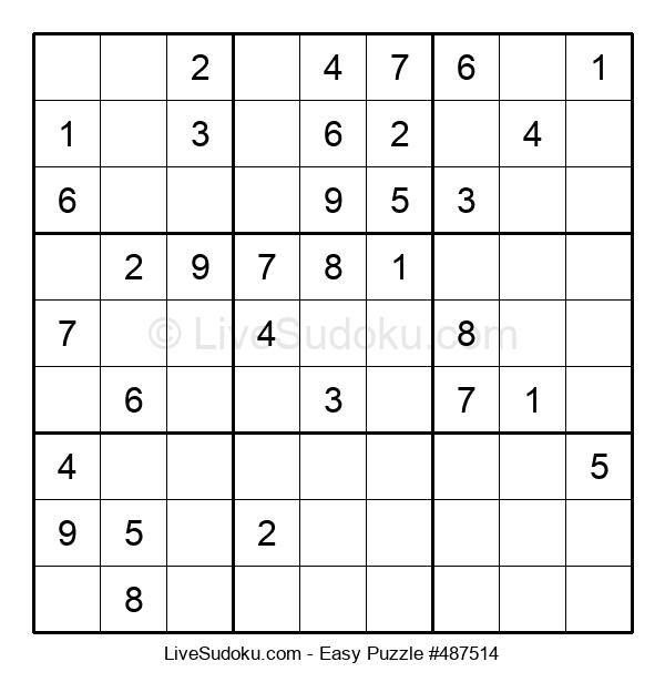 Beginners Puzzle #487514