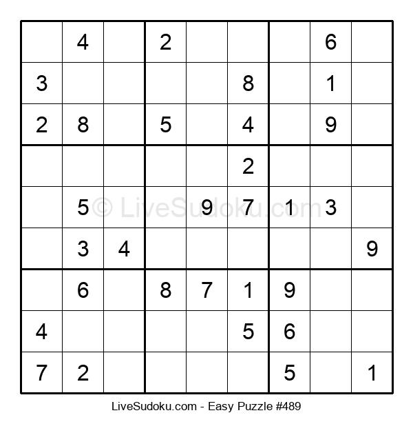 Beginners Puzzle #489