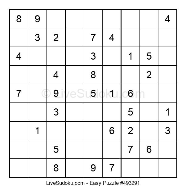 Beginners Puzzle #493291