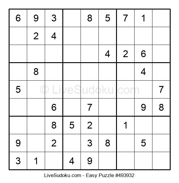 Beginners Puzzle #493932