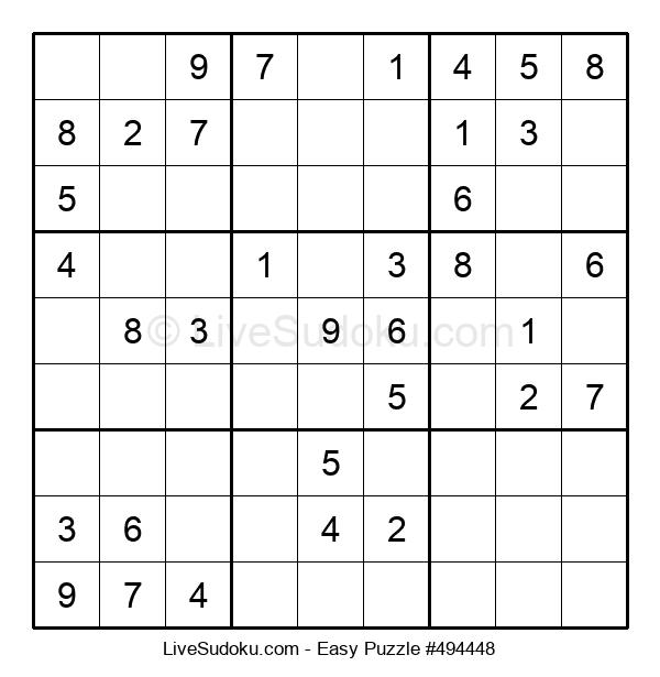 Beginners Puzzle #494448