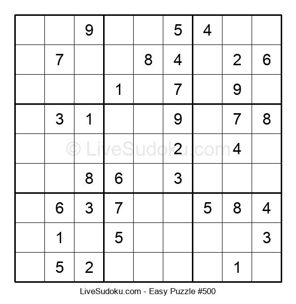 Beginners Puzzle #500