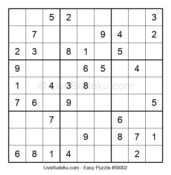 Beginners Puzzle #50002