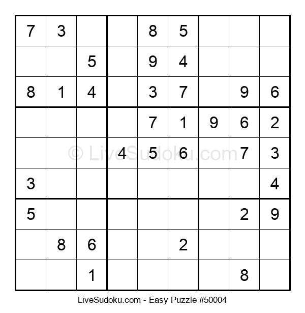 Beginners Puzzle #50004