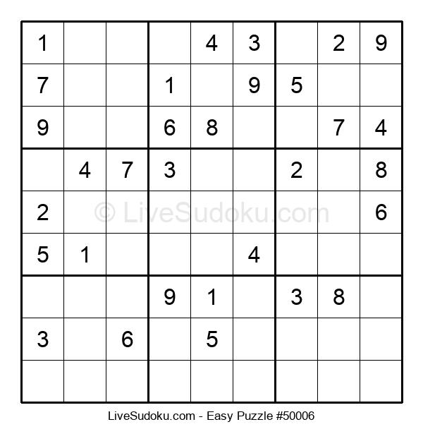 Beginners Puzzle #50006