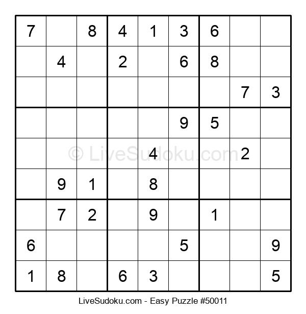 Beginners Puzzle #50011