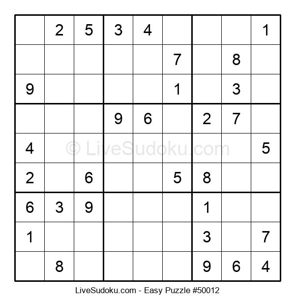 Beginners Puzzle #50012