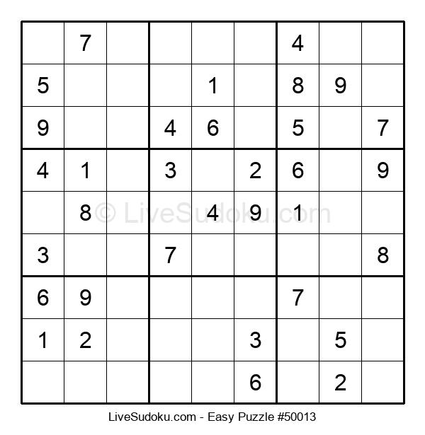 Beginners Puzzle #50013