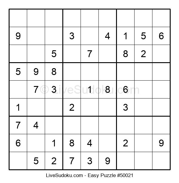 Beginners Puzzle #50021