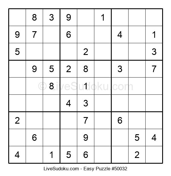 Beginners Puzzle #50032