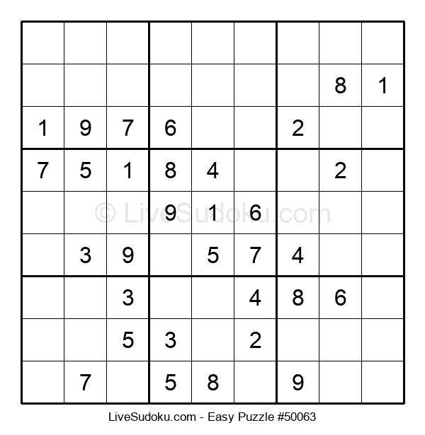 Beginners Puzzle #50063