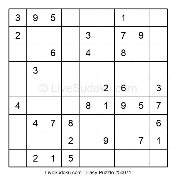 Beginners Puzzle #50071