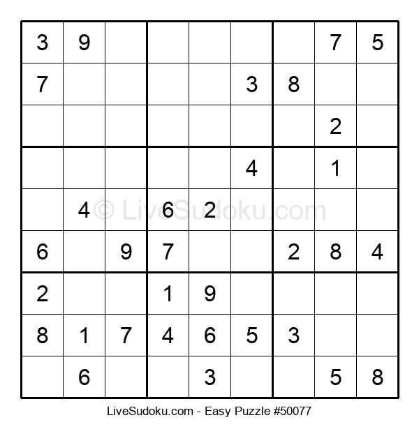 Beginners Puzzle #50077