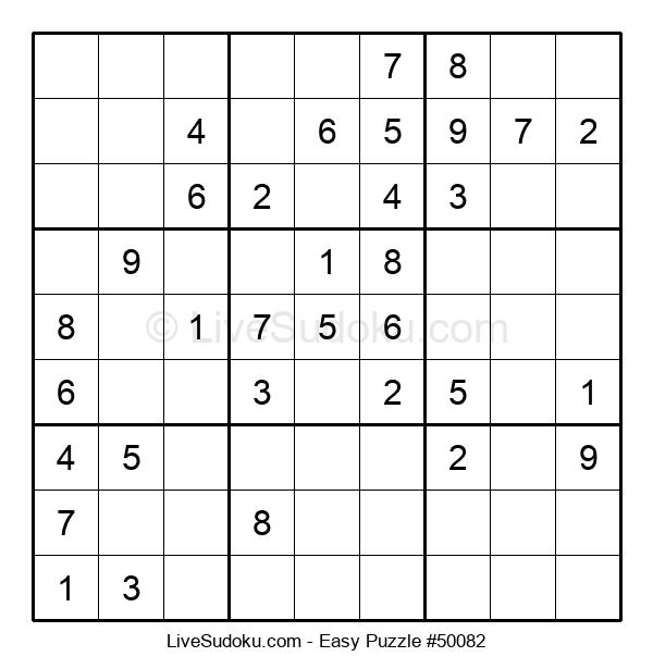 Beginners Puzzle #50082